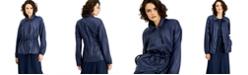 Alfani Drawstring-Waist Jacket, Created for Macy's