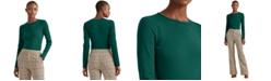 Lauren Ralph Lauren Long-Sleeve Stretch T-Shirt