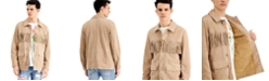 INC International Concepts INC ONYX Men's Fringed Suede Jacket, Created for Macy's