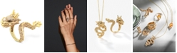 EFFY Collection EFFY® Diamond Dragon Ring  (1 ct. t.w.) in 14k Gold