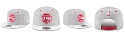 New Era Detroit Pistons White Vize 9FIFTY Snapback Cap