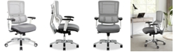 Office Star Adkin Mesh Office Chair - White
