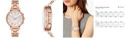 Michael Kors Women's Sofie Rose Gold-Tone Stainless Steel Bracelet Watch 39mm