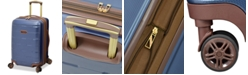 """London Fog CLOSEOUT! Brentwood 20"""" Hardside Carry-On Luggage, Created for Macy's"""