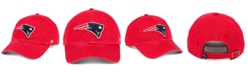 '47 Brand New England Patriots CLEAN UP Strapback Cap