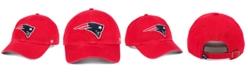 '47 Brand New England Patriots CLEAN UP Strapback Cap