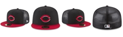 New Era Cincinnati Reds On-Field Mesh Back 59FIFTY Fitted Cap