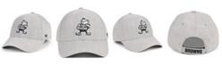 '47 Brand Cleveland Browns Heathered Black White MVP Adjustable Cap