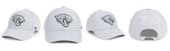 '47 Brand Jacksonville Jaguars Heathered Black White MVP Strapback Cap