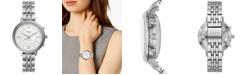 Fossil Women's Tech Jacqueline Stainless Steel Bracelet Hybrid Smart Watch 36mm