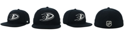 Authentic NHL Headwear NHL Authentic Headwear Anaheim Ducks Black DUB Fitted Cap