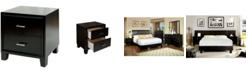 Furniture of America Muscett Transitional Nightstand