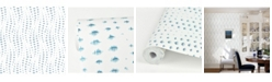 "Brewster Home Fashions Wavelength Wallpaper - 396"" x 20.5"" x 0.025"""