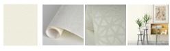 "Brewster Home Fashions Billie Geometric Wallpaper - 396"" x 20.5"" x 0.025"""