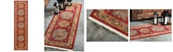 "Bridgeport Home Harik Har1 Red 2' 7"" x 10' Runner Area Rug"