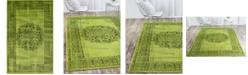 Bridgeport Home Linport Lin5 Sage Green 5' x 8' Area Rug