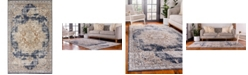 Bridgeport Home Odette Ode1 Dark Blue 5' x 8' Area Rug