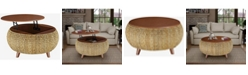 Gallerie Decor Bali Breeze Round Coffee Table