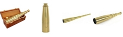 Barska 18x50mm Collapsible Anchormaster Classic Brass Spyscope, Anchormaster with Storage Chest