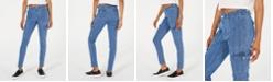 Dickies Pinstripe-Denim Skinny Carpenter Pants