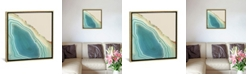 """iCanvas Turquoise Agate by Nature Magick Gallery-Wrapped Canvas Print - 26"""" x 26"""" x 0.75"""""""