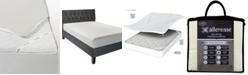 AllerEase Platinum Zip-Off Top Allergy Twin Mattress Protector