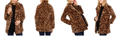 Jessica Simpson Maternity Faux-Fur Coat
