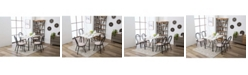 Boraam Anders Collection 5 Piece Dining Set