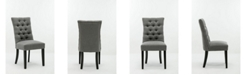 Boraam Michelle Collection Tufted Dining Chair, Set of 2