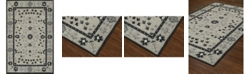 """D Style CLOSEOUT! Torrey Tor5 Silver 3'6"""" x 5'6"""" Area Rugs"""