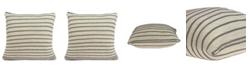 Parkland Collection Tanzi Transitional Tan Pillow Cover