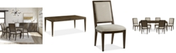 Furniture Monterey Dining Furniture, 7-Pc. Set (Table & 6 Side Chairs), Created for Macy's