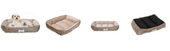Happycare Textiles Classic Rectangle Large Dog and Pet Bed