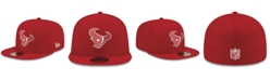 New Era Houston Texans Basic Fashion 59FIFTY-FITTED Cap
