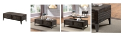 Furniture of America Kenina 2 Drawer Coffee Table