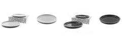 BOMSHBEE Tinge Porcelain Dinner Plates - Set of 2