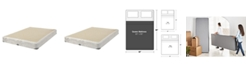 Hotel Collection Classic by Shifman Luxury Coil Standard Profile Box Spring - Queen Split, Created for Macy's