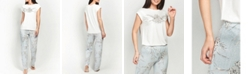 MOOD Pajamas Ultra Soft Dream Short Sleeve Pajama Set