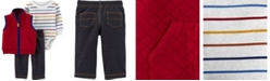 Carter's Baby Boy 3-Piece Little Vest Set