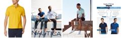Nautica Men's Classic Fit Performance Deck Polo