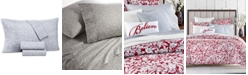 Charter Club Supima Cotton 550-Thread Count 3-Pc. Floral-Print Twin Sheet Set, Created for Macy's