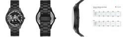 Michael Kors Women's Slim Runway Black Stainless Steel Bracelet Watch 42mm
