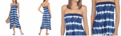 Raviya Strapless High-Low Dress Cover-Up