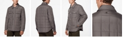 Marc New York Archer Men's Quilted Shirt Jacket with Corduroy Trimming