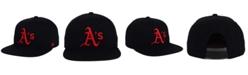 '47 Brand Oakland Athletics Black Red Shot Snapback Cap