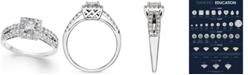 Macy's Diamond Engagement Ring (1 ct. t.w.) in 14k White Gold
