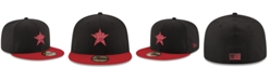 New Era Houston Astros Black & Red 59FIFTY Fitted Cap