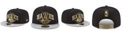 New Era Atlanta Hawks Gold Mark 9FIFTY Snapback Cap