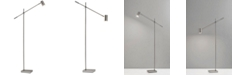 Adesso Collette Charge LED Floor Lamp