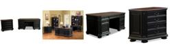 Furniture Beekman Home Office, 2-Pc. Furniture Set (Executive Desk & File Cabinet)